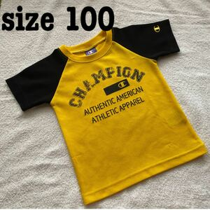 半袖Tシャツ tシャツ チャンピオン champion 子供服 100 ドライ 半袖 カットソー スポーツ さらさら 速乾性