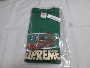 送料無料 【Light Pine・M】 Samurai Tee supreme 国内 新品未開封 シュプリーム supreme 21aw Tシャツ 半袖 サムライティー サムライ