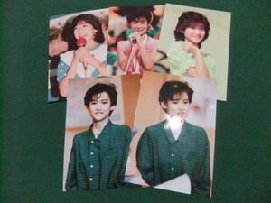 ■岡田有希子■Lサイズ写真/5枚■A4サイズ写真/1枚■