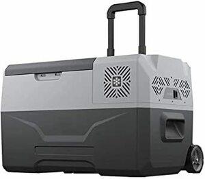 30L(バッテリー内蔵) @NSS 車載冷蔵庫 バッテリー内蔵 30L キャリーハンドル付き ポータブル 冷蔵庫 冷凍庫 保冷庫