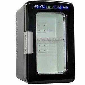 ブラック UP STORE 冷温庫 小型冷蔵庫 10L 氷点下-2~60℃まで設定可能 保温 保冷 ポータブル 家庭用ACコード