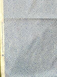 ロラライハリス Bitty Dots blue ドット 水色 水玉