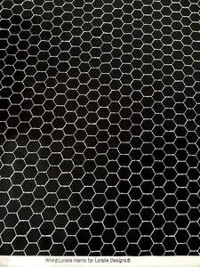 ロラライハリス Wire ワイヤー 黒 ブラック ハンドメイド