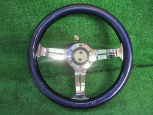 521651*RA1/ Pleo [ after market ] steering gear steering wheel / horn button * diameter approximately 32.* Boss attaching ( thickness approximately 10.)* Junk