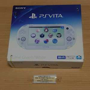 未使用 訳あり PSVita PCH-2000 ライムグリーン ホワイト PlayStation Vita