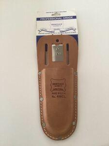 HERITAGE LEATHER(ヘリテージレザー)No.418CL/Pliers Tool HOLDER/ツールホルダー/MADE IN USA/工具入れ