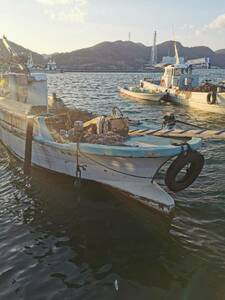 牡蠣船 現状渡し カキ船 漁船