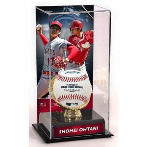 大谷翔平 2021 MLB ロサンゼルスエンゼルス 二刀流モデル ボールケース ゴールドグラブ ボールスタンド