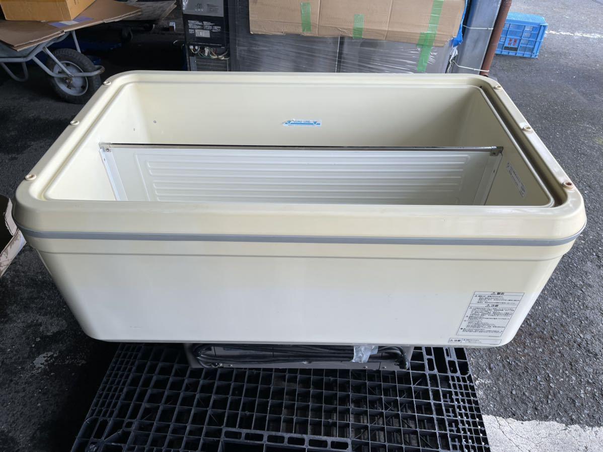 ☆激安☆税無☆送料無料☆SANYOサンヨーオープン冷凍ケース平型☆SPT-2500B☆100V☆137L