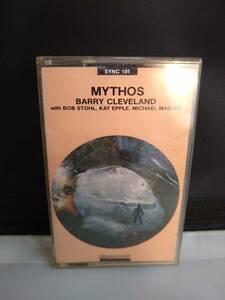 C0445 カセットテープ バリー・クリーブランド  Barry Cleveland Mythos アンビエントの商品画像