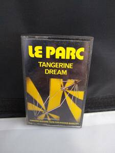 C0455 カセットテープ  TANGERINE DREAM / LE PARC  タンジェリン・ドリーム / ル・パークの商品画像