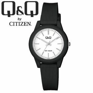 CITIZEN Q&Q シチズン 腕時計 VS13J003Y ブラック ホワイト アナログ チープシチズン レディース キッズ 女性 子供 防水 国産ムーブメント