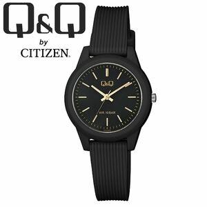 CITIZEN Q&Q シチズン 腕時計 VS13J004Y ブラック バー アナログ チープシチズン レディース キッズ 女性 子供 防水 国産ムーブメント