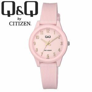 CITIZEN Q&Q シチズン 腕時計 VS13J005Y ベビーピンク アナログ チープシチズン レディース キッズ 女性 子供 防水 国産ムーブメント