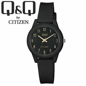 CITIZEN Q&Q シチズン 腕時計 VS13J009Y ブラック アラビア アナログ チープシチズン レディース キッズ 女性 子供 防水 国産ムーブメント