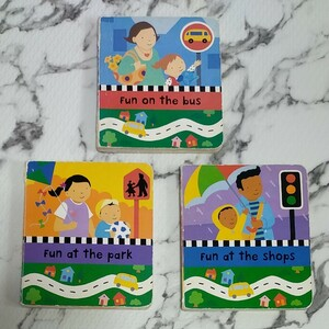 英語 絵本 3冊セット Campbell Books