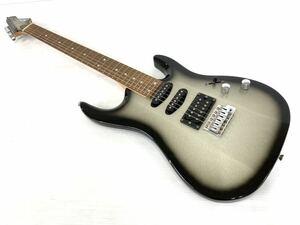 ◆AriaProⅡ アリアプロ2◆エレキギター MA SERIES メタリックブラックシェード ソフトケース付き