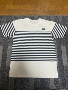 THE NORTH FACE 半袖Tシャツ  ボーダー ザノースフェイス