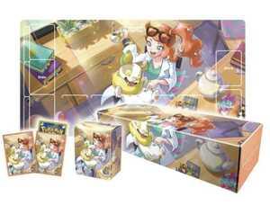 新品 未開封 ポケモンカードゲーム ラバープレイマットセット ソニア デッキシールド/デッキケース/ラバープレイマット カードボックス