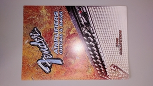 フェンダー ギター&ベースアンプカタログ 2006コレクション