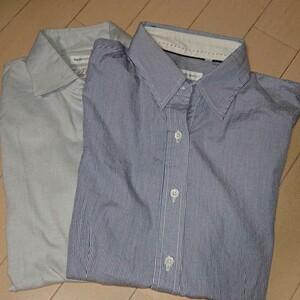 スーツカンパニー ブラウス2枚 綿100%