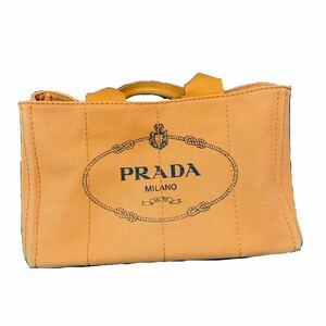 PRADA プラダ カナパトート カナパオレンジM