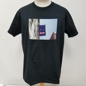 シュプリーム 19AW Benner Tee バナー フォトプリント 半袖Tシャツ 全タグ付き Tシャツ Tシャツ M 黒 / ブラック プリント