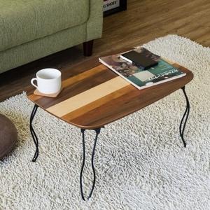 ローテーブル 木製 折りたたみ アンティーク センターテーブル 折り畳み カフェ コンパクト ちゃぶ台 テーブル アウトレット価格