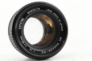 ★希少★ ミノルタ MINOLTA MC ROKKOR-PG F1.4 50mm #7662