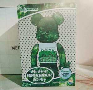 MY FIRST BE@RBRICK B@BY FOREST GREEN Ver. 100% & 400% be@rbrick 新品未開封