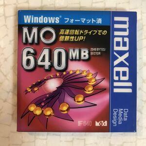 MO メディア 640MB Windows フォーマット