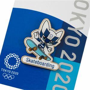 オリンピックグッズ、スケボー、ピンバッジ、東京オリンピック