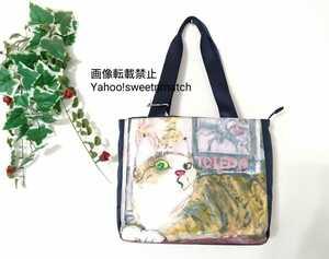 マンハッタナーズ ネコ ねこ 猫 バッグ バック トートバッグ トートバック トート 新品 未使用