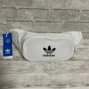 adidas ボディバッグ ウエストポーチ ホワイト 新品   お値下げ不可