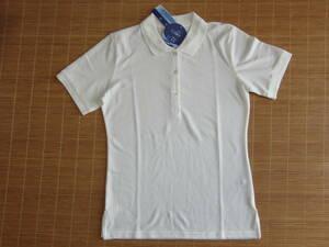 新品(M)レディース白ポロシャツ 半袖 DRY UV