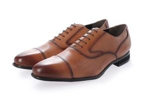 新品 マドラス madras MDL メンズ ビジネスシューズ 高級 紳士靴 本革 冠婚葬祭 3E DS4061 ライトブラウン 25.5cm