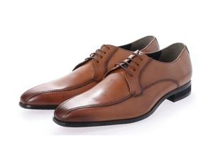 新品 マドラス madras MDL メンズ ビジネスシューズ 高級 紳士靴 本革 冠婚葬祭 3E DS4046 ライトブラウン 25.0cm