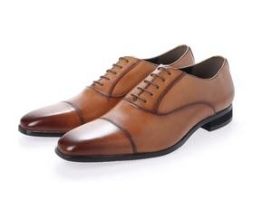 新品 マドラス madras MDL メンズ ビジネスシューズ 高級 紳士靴 本革 冠婚葬祭 3E DS4047 ライトブラウン 25.0cm