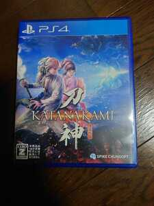 PS4ソフト 刀神