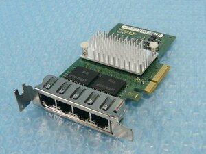 1KED // 富士通 D2745-A11 GS3 Quad(4)-Port 1000BASE-T PCI-Express 80mmブラケット // Fujitsu PRIMERGY RX200 S7 取外 // 在庫2