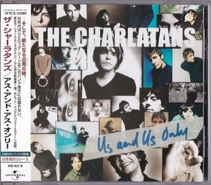 The Charlatans / Us And Us Only (日本盤CD) ボーナス3曲 ザ・シャーラタンズ