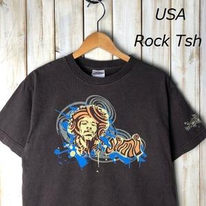 バンドT・ロックT USA古着 2004年 Jimi Hendrix ジミヘン Tシャツ M オールド ヴィンテージ アメリカ古着 ジミ・ヘンドリックス 00s ●53