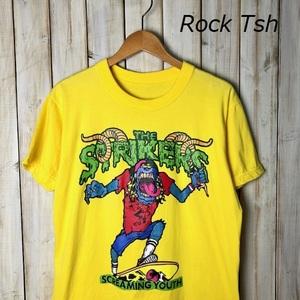 バンドT・ロックT THE STRIKERS ツアーTシャツ Mぐらい 2012年 オールド ヴィンテージ PUNK パンク ザ・ストライカース ●49