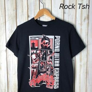 バンドT・ロックT ROTTEN GRAFFTY ロットングラフティー ライブTシャツ ポルノ超特急2013 S オールド ヴィンテージ パンク ロック ●50