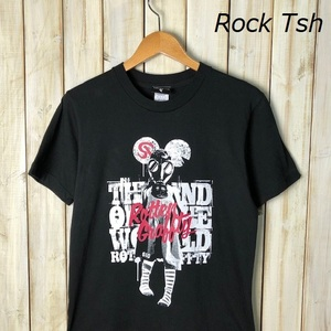 バンドT・ロックT ROTTEN GRAFFTY ロットングラフティー ツアーTシャツ S THE END OF THE WORLD オールド ヴィンテージ パンク ロック ●51