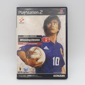中古/PlayStation 2/ワールドサッカー ウイニングイレブン6 ファイナルエヴォリューション/ゲームソフト/KONAMI コナミ/PS2 プレステ2/2160
