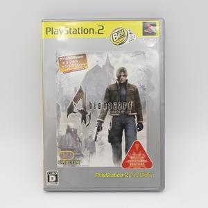 中古/PlayStation 2/biohazard バイオハザード 4/ゲームソフト/CAPCOM カプコン/PS2 プレステ2/the best/オリジナルサントラCD付き/2156