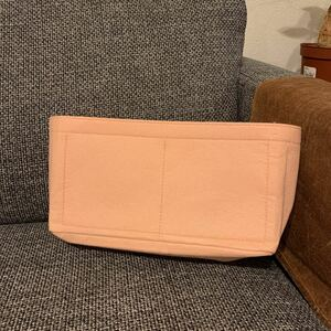 バッグインバッグ ピンク 自立収納