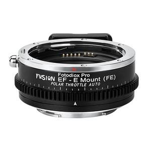 Fotodiox EF-SNE-FSN-PLT(キヤノンEFマウントレンズ → ソニーEマウント変換)電子マウントアダプター CPLフィルター内蔵