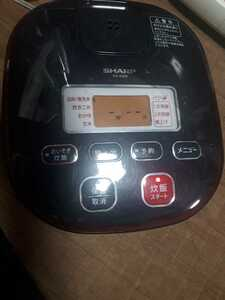 I-3s-6502★SHARP★炊飯器★KS-K500-R